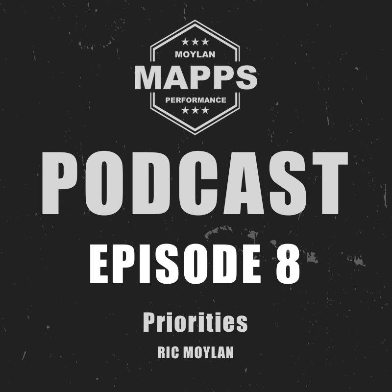 Episode 8 Priorities